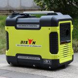 バイソン(中国) BS1600q 1600Wの長期間の時間信頼できるAC単一フェーズの工場価格極度の静かなインバーター発電機