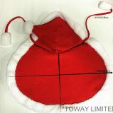 Costumes de vacances de Noël d'hiver de vêtements pour chien Pet manteau avec Hoodie