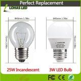 Économies d'énergie d'éclairage LED E27 B22 3W-15W Ampoule de LED avec la CE La directive RoHS