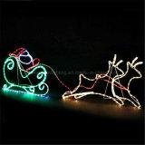 220V F5のハイライトLEDのクリスマスのFariyロープの薄い色の変更ライトロープ