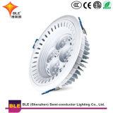 Bom preço de fábrica por grosso LED fino na luz de tecto