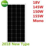 18V 145W-155W 단청 태양 전지판 (2018년)