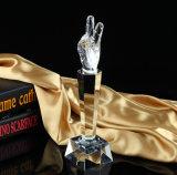 Высокое качество музыки вокал голос чашки микрофон Award трофей Crystal пение Craft сувенир