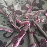 Tessuti del jacquard del fiore di velluto di modo