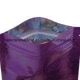 Sacchetto risigillabile impaccante a chiusura lampo del Mylar stampato abitudine del sacchetto con lo strato della stagnola all'interno