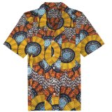 عامة رجال إفريقيّة قميص شمع طبق أبنية يصمّم نمو أسلوب [دشيكي] قميص