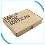 Caja de regalo papel de la carpeta/Embalaje/impresión/caja de cartón ondulado de verificación
