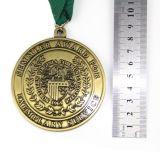 Medalha profissional da concessão do metal da produção feita sob encomenda do fornecedor