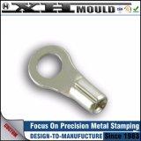 Metallo piano di precisione su ordinazione dell'OEM che timbra le alette terminali dell'acciaio inossidabile