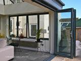 Portas exteriores de alumínio valiosas elevadas da versatilidade máxima do fluxo de ar
