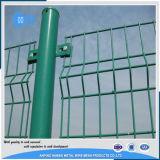 los paneles soldados 3D de la cerca del acoplamiento de alambre (fabricante)