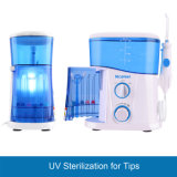 UV 소독 물 분출 이 세탁기술자 장비를 가진 치과 Flosser