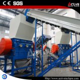 Recicl Waste e máquina de lavar do plástico da sucata do frasco do animal de estimação com certificado do Ce