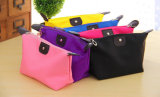 Fecho de poliéster Rosa quentes personalizadas saco cosméticos