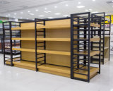 Стеллажи для выставки товаров микстуры полок супермаркета/фармации деревянные
