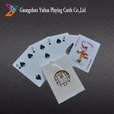 Tarjetas plásticas al por mayor del póker del casino de las tarjetas que juegan