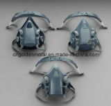 Половинный лицевой щиток гермошлема 7502 пыли лицевого щитка гермошлема