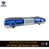 Barra clara de advertência impermeável do diodo emissor de luz de Lightbar do carro do vagão de 47 polícias de Lightbar da polícia da polícia Lightbar/12V da polegada