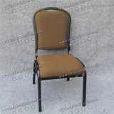 Yc-Zg45-1ホテルの部屋の椅子を食事する暗いファブリック鉄フレーム