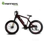 Bici gorda de la montaña E de la potencia del neumático de la montaña de la bici de la bicicleta eléctrica eléctrica gorda grande de la nieve