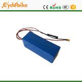 48V 17.4ah tipo Triângulo Panasonic Bateria de íon de lítio de células para 1500W Motor Eléctrico Bike