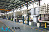 Nueva cadena de producción del lacre del panel del aislante del vacío