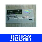 Precio barato de diseño personalizado del holograma etiqueta Vial impermeable