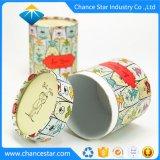 カスタムカラーによって印刷されるペーパーギフトの包装のボール紙の筒