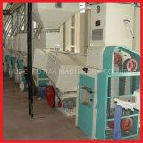 100 T/Dayの統合された自動米製造所のプラント