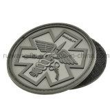 Custom3d Logo en caoutchouc PVC Patch avec Velcro pour étiquette du vêtement