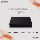 Ipremium I9のプロアンドロイドTVボックス4K HDサテライトレシーバ