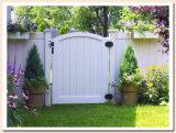 Poste de aluminio PVC cerco patio