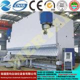 Placa de metal máquina de dobragem hidráulica CNC, dobradeira de folha de metal com marcação CE