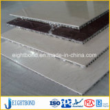 Panneau en aluminium de marbre mince de papier de nid d'abeilles pour des matériaux de construction