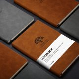 A5 Premium Papier épais Suade couvrir l'écriture portable souple