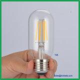 LED de intensidade regulável Lâmpada de Edison 6W/T45 lâmpada de filamento de LED/Ce/RoHS//Luz de Iluminação