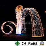 Vacaciones de Navidad Decoración Motif LED luces de la calle