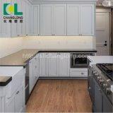 베스트셀러 목제 디자인 시리즈 PVC 비닐 마루, ISO9001 Changlong Clw-12