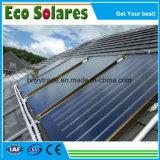 Черный хром покрытие плоская пластина солнечного коллектора/солнечной энергии для нагрева воды для подачи горячей воды проекта