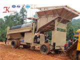 Petit équipement minier de placer d'or de la vente 2017 de sable de mini d'or usine alluviale chaude de lavage