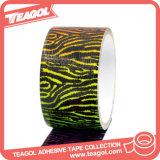 Cinta adhesiva coloreada decorativa del paño, cinta del conducto del paño