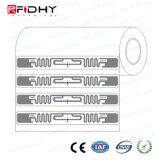 Etiqueta elegante de la escritura de la etiqueta RFID de la frecuencia ultraelevada de la etiqueta engomada imprimible del Hf del precio de fábrica