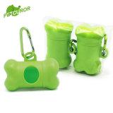 Sacchetto biodegradabile 100% ecologico dello spreco dell'animale domestico dei sacchetti di Poop del cane con l'erogatore