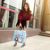 Sacchetto sveglio coreano di corsa del fumetto, sacchetto dei bagagli di mano delle donne, sacchetto impermeabile di corsa di grande capienza, breve sacchetto di corsa di distanza dell'allievo