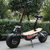 01の強力な緑の電気オートバイ- 60V 2000wattのブラシレスモーター