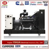 Generador diesel eléctrico abierto de la potencia del motor de Shangchai (72.5-900kVA/58-720kW)
