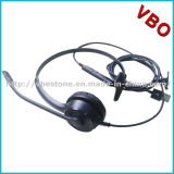 Bruit mono professionnel annulant l'écouteur de centre d'appels de la Mul-Fonction USB d'écouteur