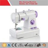 Mini máquina de costura elétrica portátil para Homeuse