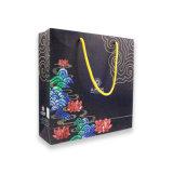 Bolsa de papel personalizado elegante caja de papel de regalo