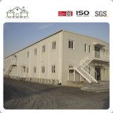 Projeto Prefab da casa da casa de campo modular do painel de sanduíche do EPS com fundação